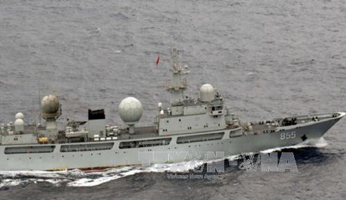 Trung Quốc định tập trận tại Biển Đông trước ngày PCA ra phán quyết - Ảnh 1