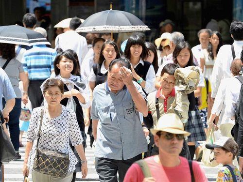 Gần 1.000 người Nhật Bản nhập viện vì nắng nóng - Ảnh 1