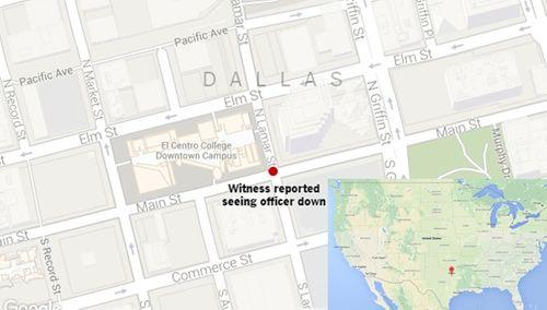 Mỹ: 11 cảnh sát bị bắn tỉa, 5 người thiệt mạng - Ảnh 6