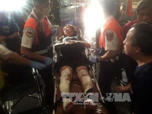 Một người Việt bị thương trong vụ nổ tàu khách ở Đài Loan - Ảnh 2