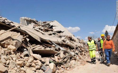 Italy xúc tiến kế hoạch tái thiết sau động đất - Ảnh 1