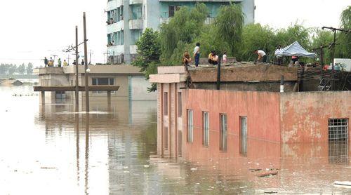 133 người thiệt mạng vì lũ lụt nghiêm trọng tại Triều Tiên - Ảnh 1