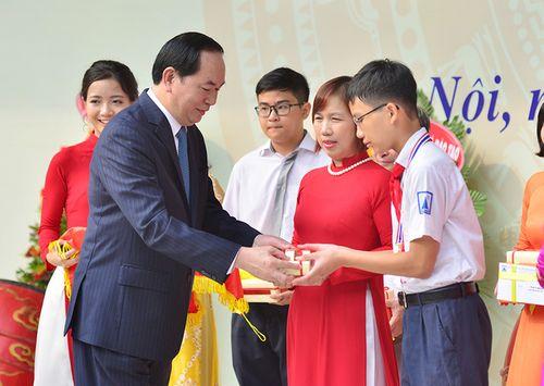 Chủ tịch nước Trần Đại Quang gửi Thư chúc Tết Trung thu 2016 - Ảnh 1