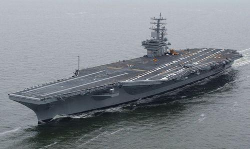 Tàu sân bay Mỹ tham gia tập trận thị uy Triều Tiên - Ảnh 1