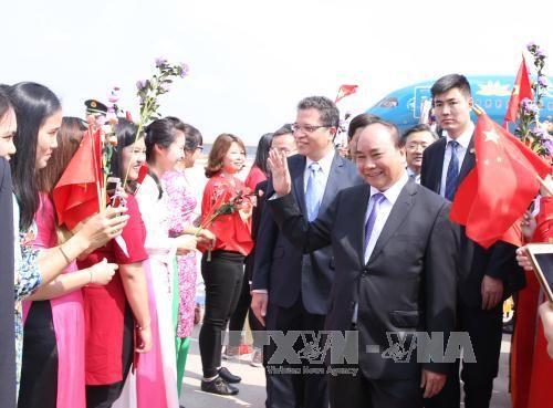 Thủ tướng Nguyễn Xuân Phúc làm việc tại Bắc Kinh - Ảnh 1