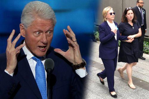 Ông Bill Clinton vô tình tiết lộ tin xấu về bệnh tình của bà Hillary Clinton - Ảnh 1