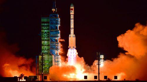 Trung Quốc phóng trạm vũ trụ Thiên Cung 2 lên quỹ đạo - Ảnh 1