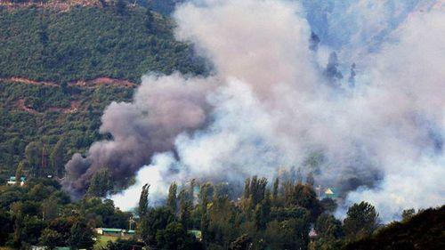 Căn cứ quân sự Ấn Độ bị tấn công, 17 binh sĩ thiệt mạng - Ảnh 1