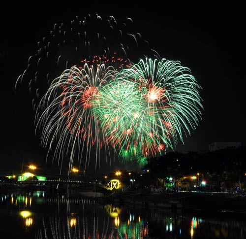 Pháo hoa lung linh trên bầu trời TP HCM mừng Quốc khánh - Ảnh 4