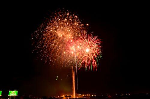 Pháo hoa lung linh trên bầu trời TP HCM mừng Quốc khánh - Ảnh 10