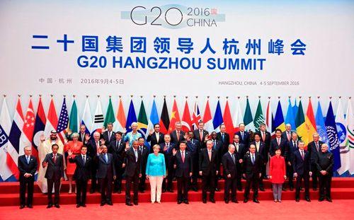 Khai mạc Hội nghị thượng đỉnh G20 - Ảnh 1