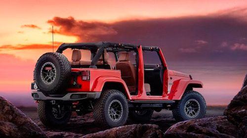 Jeep ra mắt phiên bản đặc biệt của Wrangler Red Rock Concept - Ảnh 1