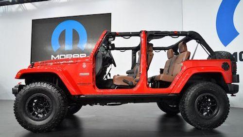 Jeep ra mắt phiên bản đặc biệt của Wrangler Red Rock Concept - Ảnh 2