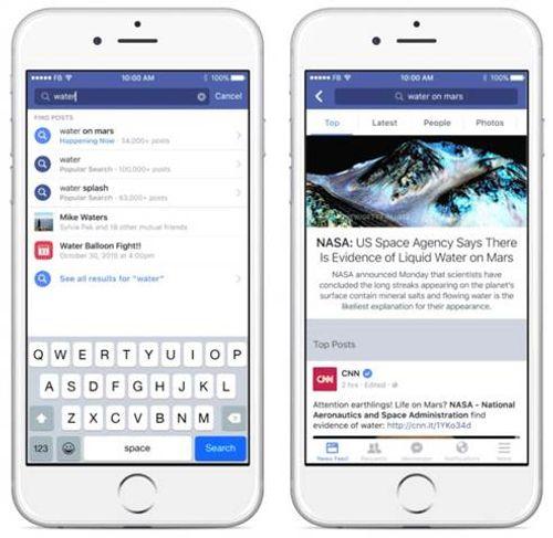 Facebook phát triển thêm chức năng mới - Ảnh 1