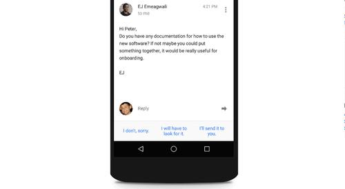 Ứng dụng mới của Google tự động giúp bạn trả lời email - Ảnh 1