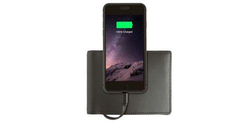 """""""The Nomad Wallet"""" - Ví tiền có thể sạc điện thoại - Ảnh 1"""
