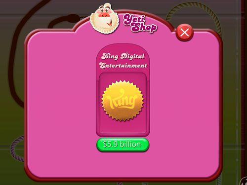 """""""Viên kẹo lớn"""" Candy Crush bị thâu tóm với giá 5,9 tỷ USD - Ảnh 1"""