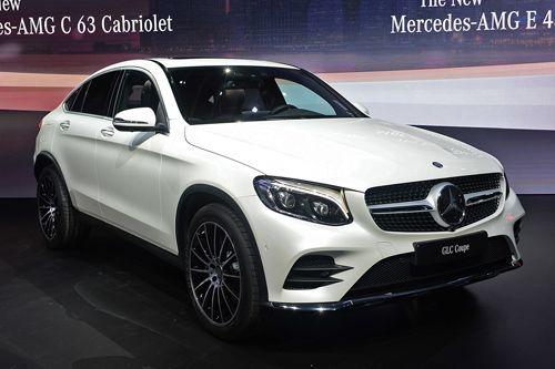 Mercedes ra mắt xế sang thể thao GLC Coupe - Ảnh 1