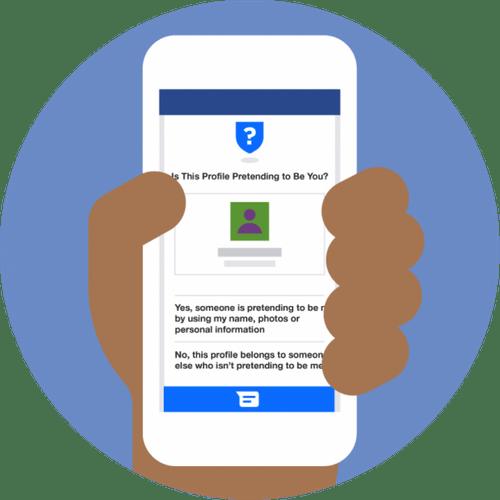 Facebook thử nghiệm chức năng tự động phát hiện tài khoản mạo danh - Ảnh 1