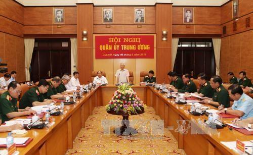 Quyết định của BCT chỉ định Quân ủy TW, Thường vụ Quân ủy TW - Ảnh 1