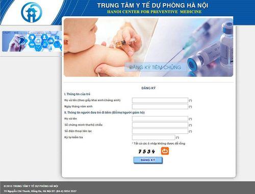 Hà Nội tiếp tục mở bán 5.500 liều vắc xin Pentaxim qua mạng - Ảnh 1