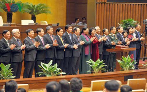 Chính thức ra mắt bộ máy lãnh đạo cao nhất của Quốc hội khóa XIV - Ảnh 3