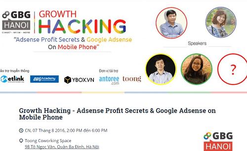 Growth Hacking: Chìa khóa giúp tăng trưởng trên Google Adsense - Ảnh 1