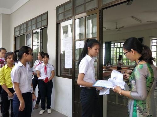Không chấm bài thi THPT quốc gia có dấu hiệu nghi vấn - Ảnh 1