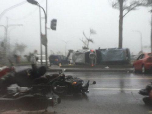 Đài Loan tan hoang vì siêu bão Nepartak đổ bộ - Ảnh 6