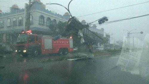 Đài Loan: 146 người thương vong vì siêu bão Nepartak - Ảnh 1