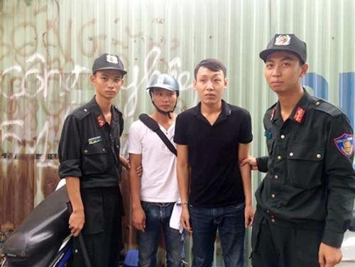 Nam thanh niên đi nộp phạt bị phát hiện tàng trữ ma túy - Ảnh 1
