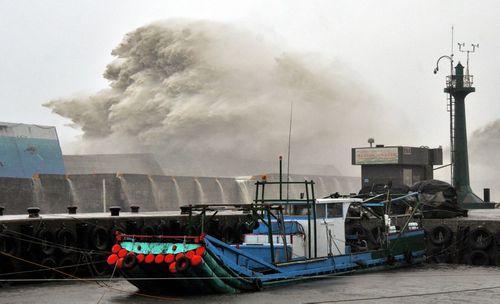 Siêu bão Meranti mạnh nhất thế giới đổ bộ, Đài Loan tan hoang - Ảnh 1