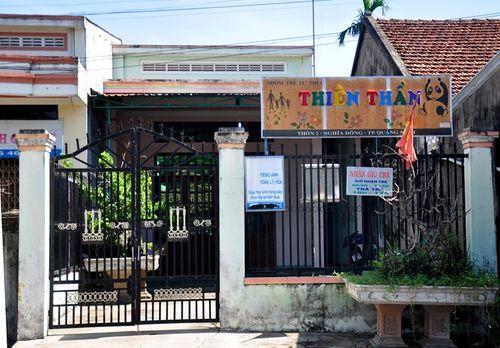 Bé trai 3 tuổi tử vong ở điểm giữ trẻ Thiên Thần - Ảnh 1
