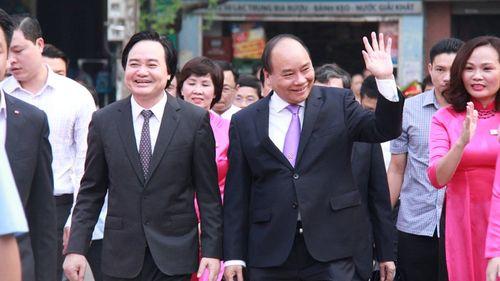 Lãnh đạo Đảng, Nhà nước tham dự lễ khai giảng năm học mới 2016-2017 - Ảnh 3