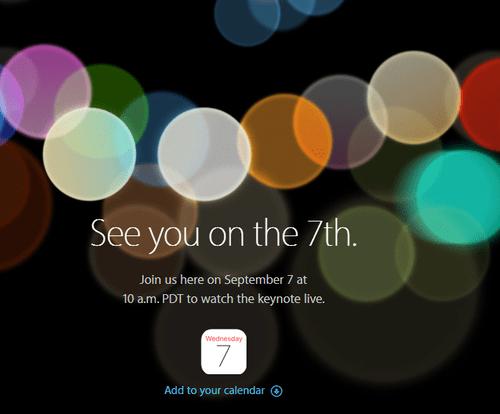 Hôm nay, Apple chính thức ra mắt iPhone 7 tới người dùng  - Ảnh 1