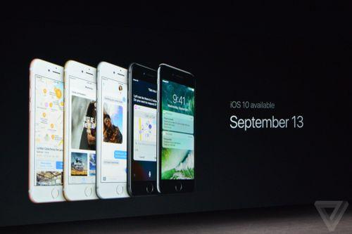 Cận cảnh chiếc iPhone 7 của Apple vừa ra mắt - Ảnh 1