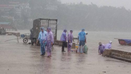 Lấy mẫu nước biển tìm nguyên nhân hàng chục tấn cá bị chết ở Thanh Hóa - Ảnh 1