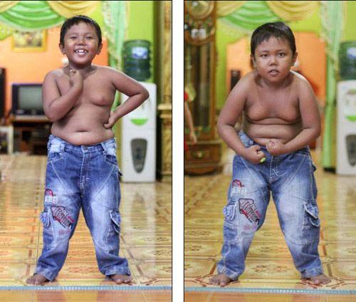 Thân hình 3 năm sau của cậu bé 5 tuổi hút 40 điếu thuốc - Ảnh 4