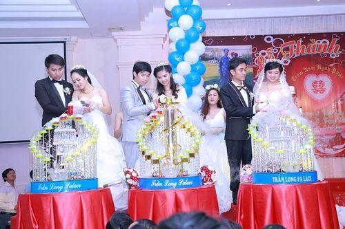 Ba chị em ruột tổ chức chung đám cưới tại Vũng Tàu - Ảnh 2