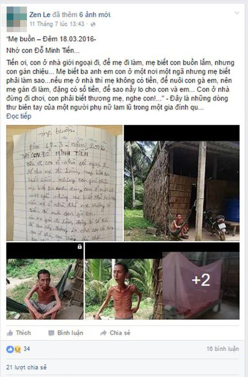 Xúc động với lá thư sai đầy lỗi chính tả của người mẹ gửi cho con - Ảnh 1