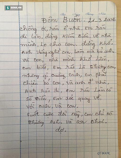 Xúc động với lá thư sai đầy lỗi chính tả của người mẹ gửi cho con - Ảnh 4
