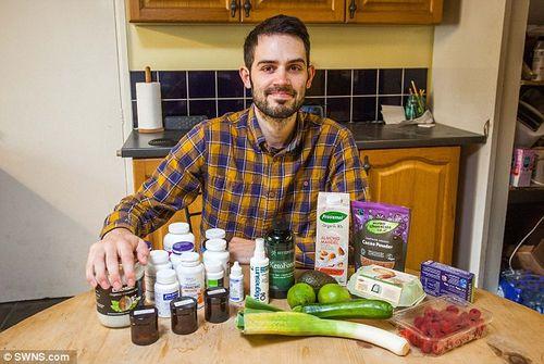 Nhờ ăn chay, điều kỳ diệu đã đến với chàng trai mắc bệnh ung thư giai đoạn cuối  - Ảnh 3