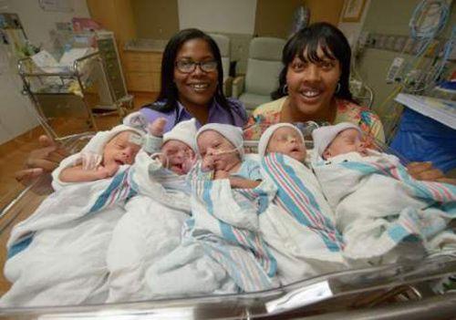 Hành trình mang thai 5 đầy gian nan của cặp đôi đồng tính nữ - Ảnh 2