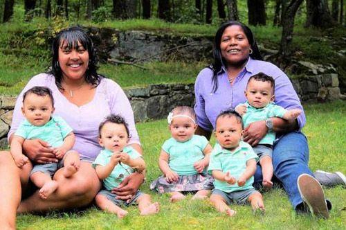 Hành trình mang thai 5 đầy gian nan của cặp đôi đồng tính nữ - Ảnh 4