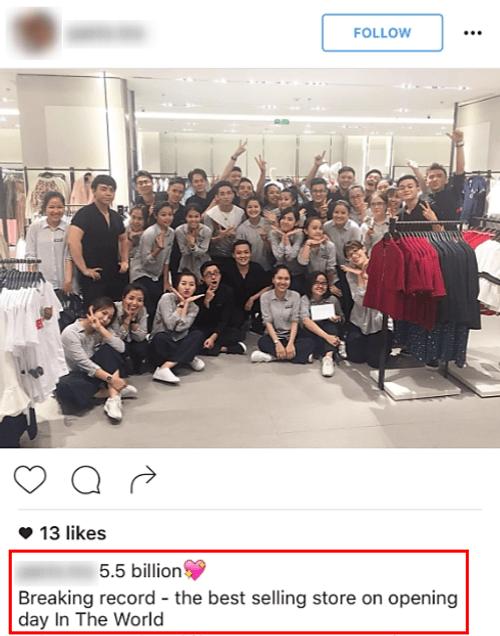 """Zara Việt Nam bán được 5,5 tỷ đồng, """"phá đảo"""" kỷ lục toàn cầu? - Ảnh 3"""