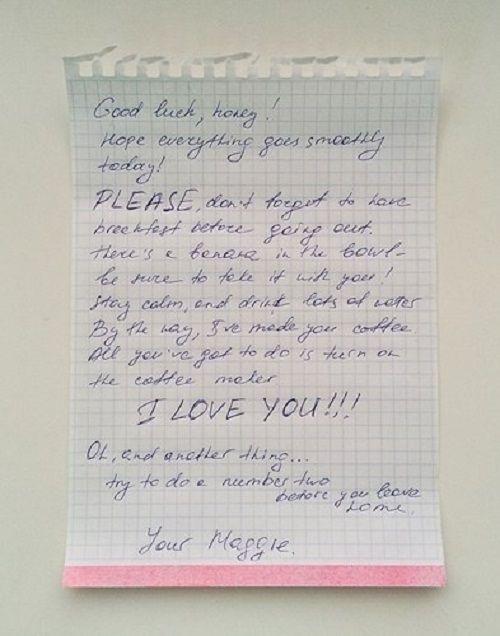 Những bức thư hài không đỡ nổi của các cặp vợ chồng - Ảnh 8