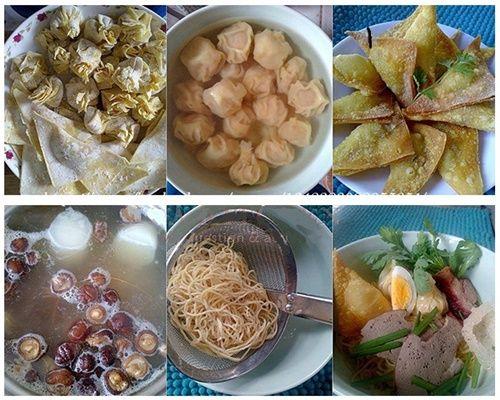 Mì vằn thắn - ăn hoành thánh theo kiểu Việt Nam - Ảnh 6