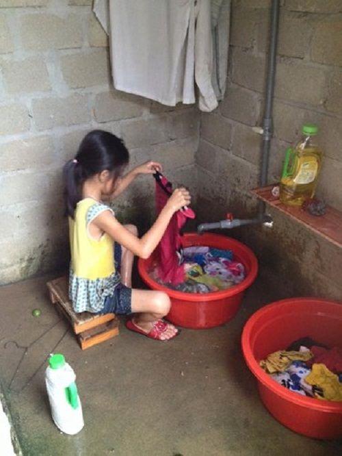 'Cô Tấm 9 tuổi' siêu đảm đang khiến nhiều mẹ ước ao - Ảnh 3