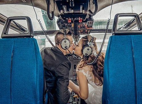 Màn thách cưới đặc biệt: Đi qua 20 nước mới về chung một nhà - Ảnh 8