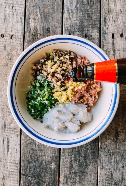 Cách làm xíu mại tôm thịt hấp đúng vị của Trung Hoa - Ảnh 3